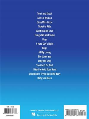 The Beatles - Live at the Hollywood Bowl: Piano, Vocal and Guitar (songbooks)