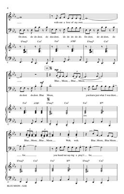 Roger Emerson: Blue Moon: Mixed Choir