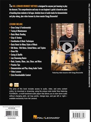 Kennan Wylie: Hal Leonard Drumset Method - Book 1: Drums and Percussion