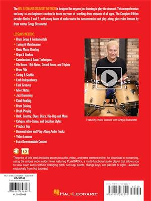 Kennan Wylie: Hal Leonard Drumset Method - Complete Edition: Drums and Percussion