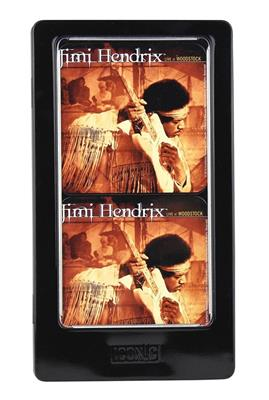 Jimi Hendrix - Live at Woodstock Tin Coaster Set: Gifts