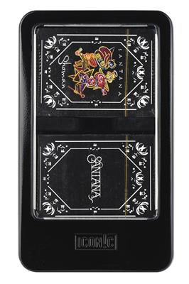 Santana Double Deck Playing Card Set with Dice: Gifts