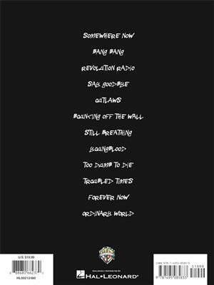 Green Day: Green Day – Revolution Radio: Guitar