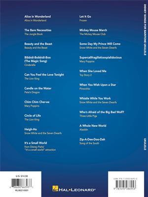 Disney Songs for Baritone Ukulele: Ukulele