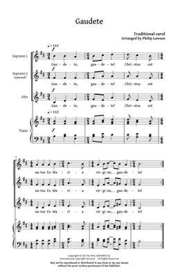 Philip Lawson: This Christmas Day: Women's Choir