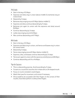 Dan Andersen: Warm-Ups for Changing Voices: Mixed Choir