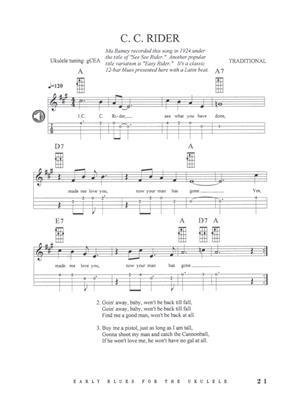 Classic Collection of Early Blues for Ukulele: Ukulele