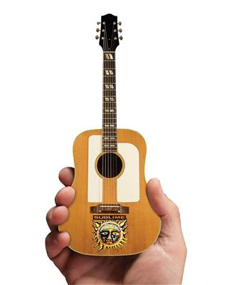 Sublime - Acoustic Guitar with Sun Face and Logo: Gifts