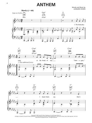 Leonard Cohen: Leonard Cohen – Sheet Music Collection: Piano, Vocal and Guitar (songbooks)