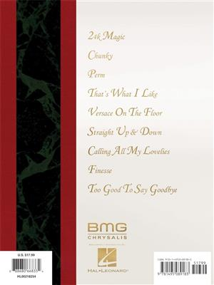 Bruno Mars - 24K Magic: Piano, Vocal and Guitar (songbooks)