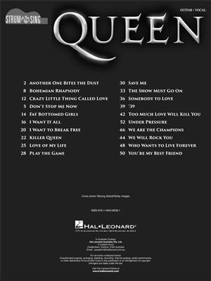 Queen: Strum & Sing Guitar: Voice & Guitar
