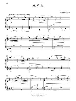 Robert Starer: Robert Starer - Sketches in Color: Piano