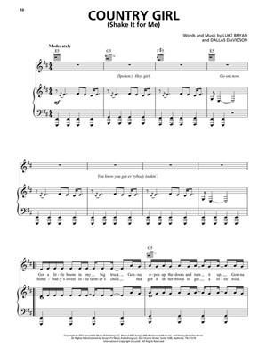 Best of Luke Bryan: Piano, Vocal, Guitar