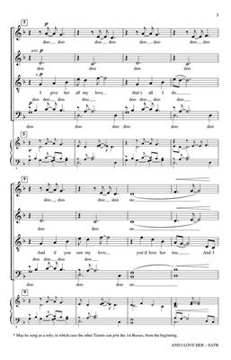 Bob Chilcott: And I Love Her: Mixed Choir