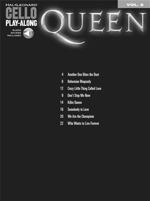 Queen: Cello Play-Along Volume 8: Cello