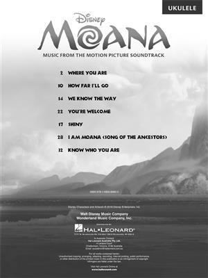 Lin-Manuel Miranda: Moana (Ukulele): Ukulele
