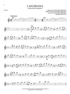 Lin-Manuel Miranda: Moana - Flute: Flute