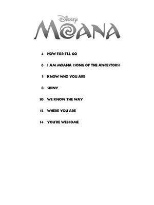 Lin-Manuel Miranda: Moana - Clarinet: Clarinet