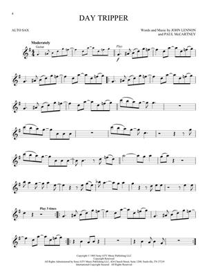 The Beatles - Instrumental Play-Along For Alto Sax: Saxophone