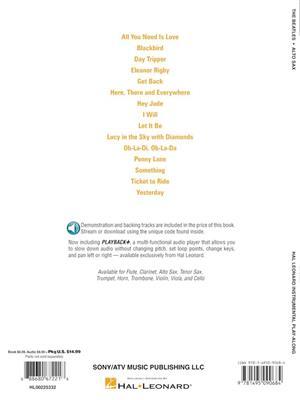 The Beatles - Alto Saxophone: Saxophone