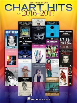 Chart Hits of 2016-2017: Piano or Keyboard