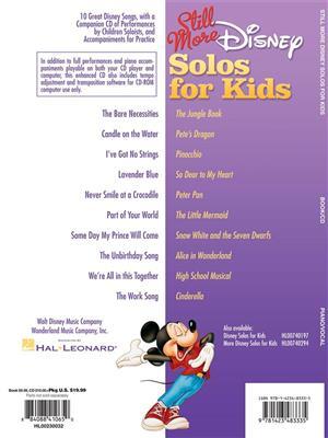 Still More Disney Solos For Kids : Vocal