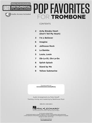 Pop Favorites - Trombone: Trombone