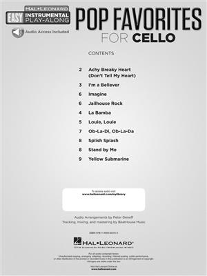 Pop Favorites - Cello: Cello