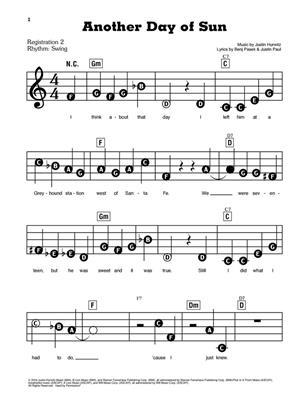 La La Land (Organ, Piano, Keyboard): Piano, Vocal and Guitar (songbooks)