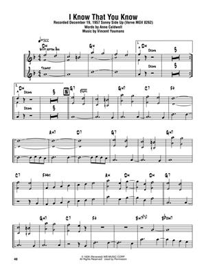 Sonny Rollins: Sonny Rollins Omnibook for B-Flat Instruments: B-Flat Instrument