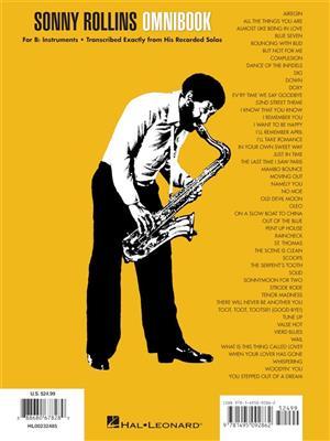 Sonny Rollins: Sonny Rollins Omnibook for B-Flat Instruments: B-Flat Instruments