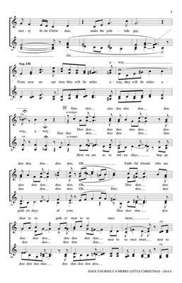 Hugh Martin: Have Yourself a Merry Little Christmas: Women's Choir
