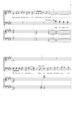 Sing On, Dance On: Arr. (Fred Bock): SATB