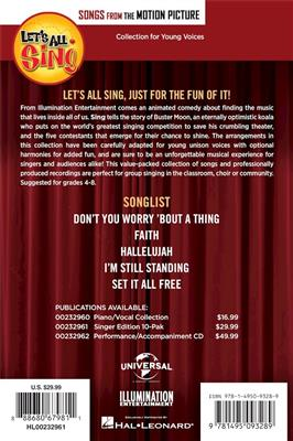 Let's All Sing Songs from the Motion Picture SING: Vocal