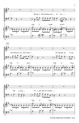 Roger Emerson: Waving Through a Window: Mixed Choir