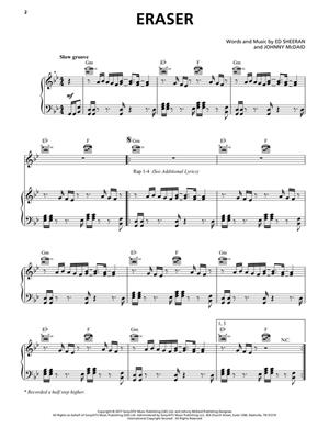Ed Sheeran: Ed Sheeran: ÷ DIVIDE (PVG): Piano, Vocal and Guitar (songbooks)