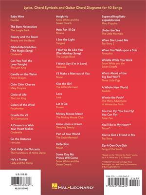 Disney - Strum & Sing Guitar: Voice & Guitar