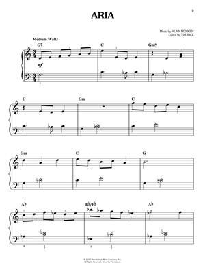 Alan Menken: Beauty and the Beast: Easy Piano