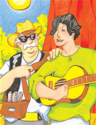 Harry Musselwhite: Martin The Guitar On The Road: Guitar or Lute