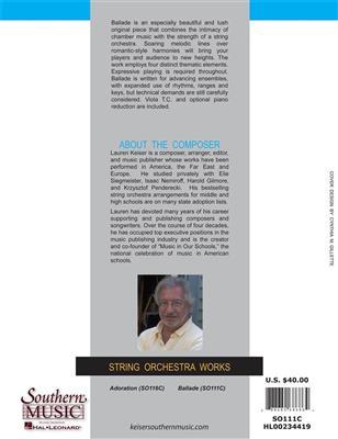 Ballade for Strings: String Ensemble