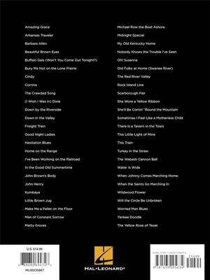 First 50 Folk Songs You Should Play on the Piano: Easy Piano