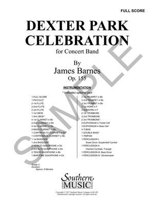 James Barnes: Dexter Park Celebration: Orchestra