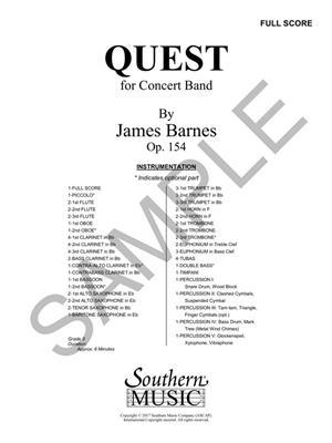James Barnes: Quest: Orchestra