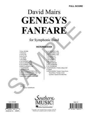David Mairs: Genesys Fanfare: Orchestra
