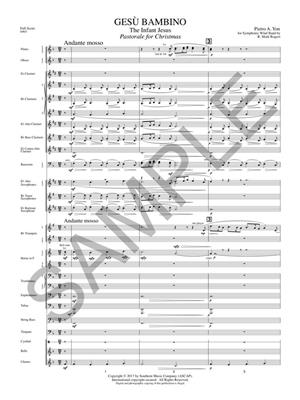 Pietro Yon: Gesu Bambino (The Infant Jesus): Arr. (Mark Rogers): Orchestra