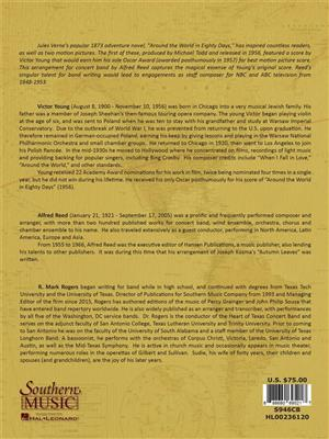 Victor Young: Around the World in 80 Days: Arr. (Alfred Reed): Orchestra