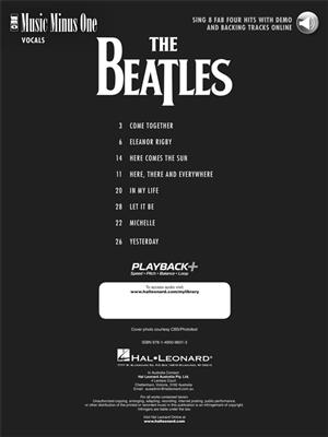 The Beatles: Sing 8 Fab Four Hits: Vocal