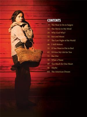 Miss Saigon (2017 Broadway Edition): Piano, Vocal and Guitar (songbooks)