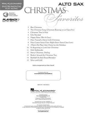 Christmas Favorites - Alto Saxophone: Alto Saxophone