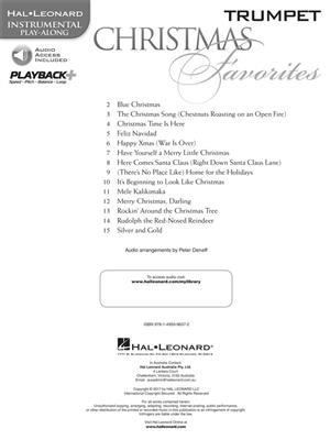 Christmas Favorites - Trumpet: Trumpet, Cornet or Flugelhorn